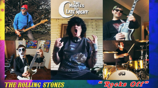 "THE ROLLING STONES' ""Rocks Off"" Performed By Members Of KVELERTAK, ROYAL THUNDER, AGAINST ME!, RED FANG; Video"