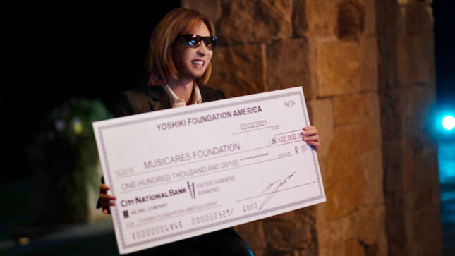 X JAPAN Leader YOSHIKI And MusiCares Announce New Annual $100K Grant And Programming For Mental Health, Suicide Prevention & Awareness, And More