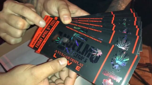 PHILIP H. ANSELMO AND THE ILLEGALS Present A Vulgar Display Of Pantera Exclusive Livestream April 9; Ticket Unboxing Video Uploaded