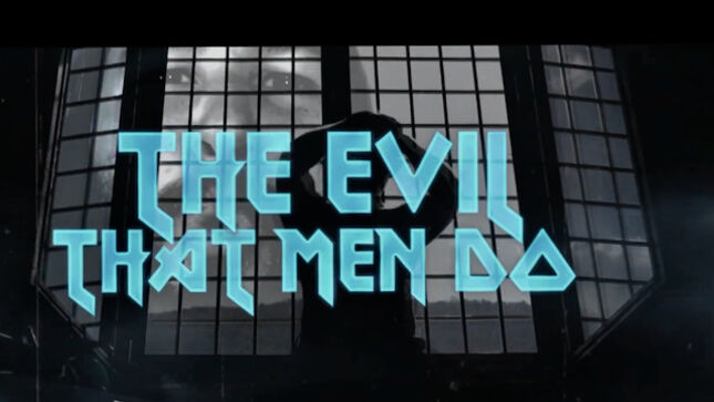 """NEW MESSIAH Premier Music Video For Cover Of IRON MAIDEN's """"The Evil That Men Do"""""""