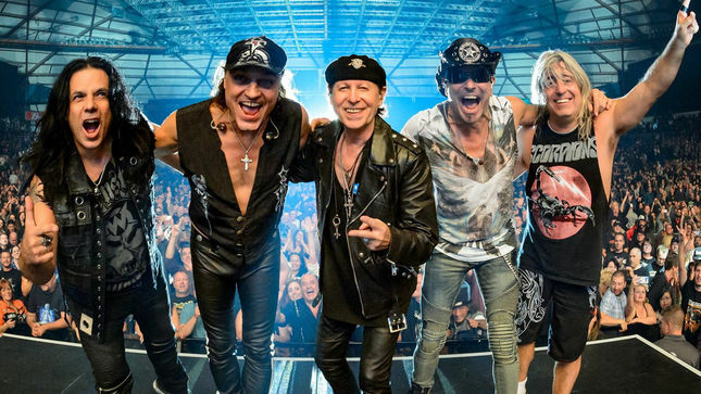 SCORPIONS Rehearse New Song For Upcoming Tour; Video - BraveWords