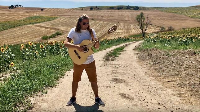 THOMAS ZWIJSEN Performs Acoustic Cover Of IRON MAIDEN's