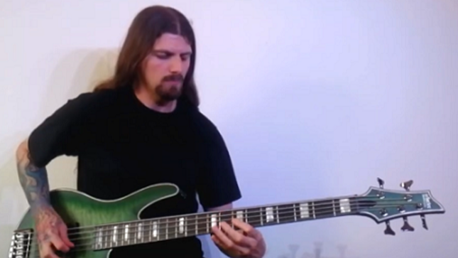 CRADLE OF FILTH Bassist DANIEL FIRTH Films Playthrough Video For IRON MAIDEN's
