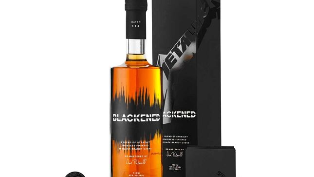 METALLICA – Blackened Batch 114: The Black Album Whiskey Pack Now Available