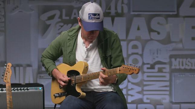 "JOE BONAMASSA And Fender Announce ""The Bludgeon"" '51 Nocaster, Master Built by Greg Fessler; Demo Video Streaming"