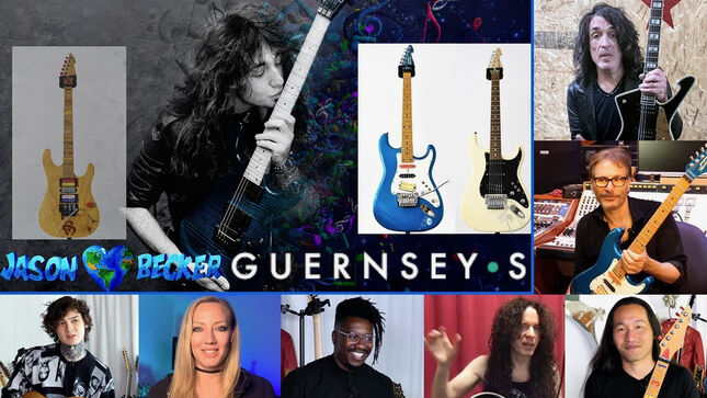 JASON BECKER Fundraiser: Jason's Three Most Important Guitars To Be Presented By Guernsey's Auctions On July 15