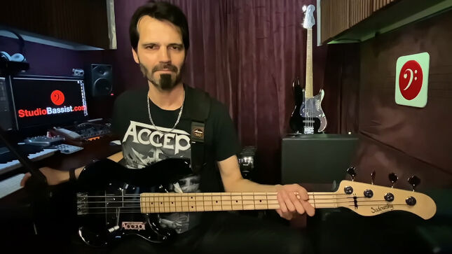 """ACCEPT - """"Sucks To Be You"""" Bass Play Along Video Streaming"""