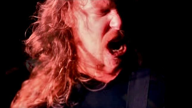 """METALLICA Release Early Rough Cut Of Band Performance Footage From """"Enter Sandman"""" Music Video"""