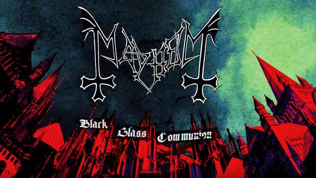 Black Glass Communion nueva obra de Mayhem