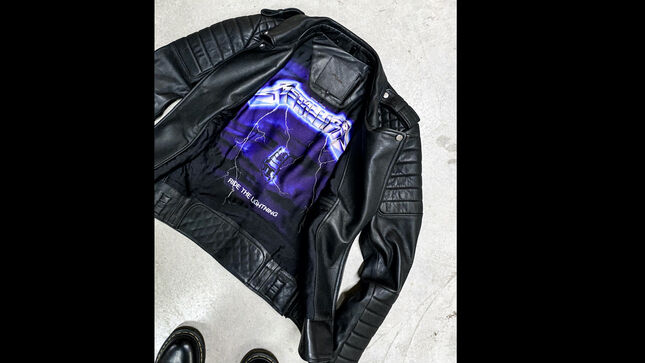 METALLICA Team With Biker Streetwear Brand BODA SKINS For New Collection