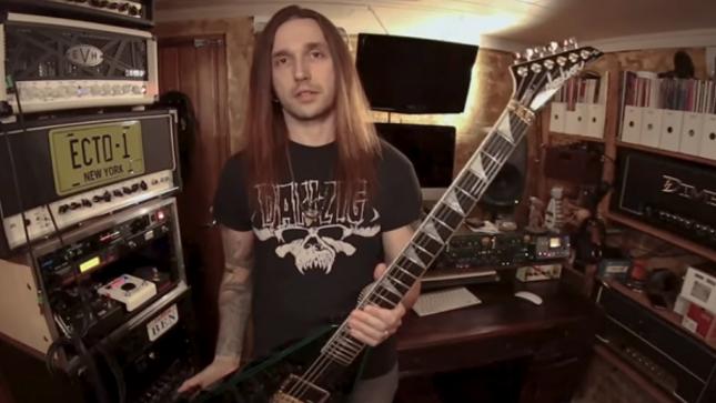 OCEANHOARSE Guitarist BEN VARON Talks Making Of ALEXI LAIHO Tribute Song
