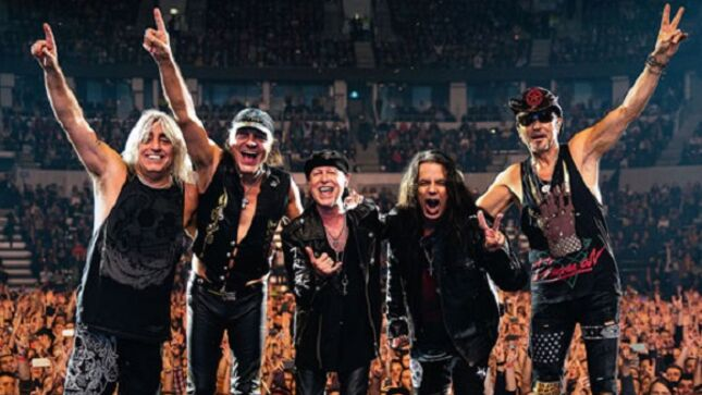 SCORPIONS To Release New Album In February 2022; European Tour Dates With MAMMOTH WVH Announced