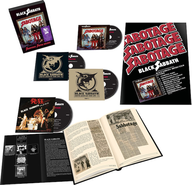 BLACK SABBATH To Release Super Deluxe Edition Of Sabotage Album In June;  Features Remastered Audio And Complete Live Show Recorded On 1975 Tour -  BraveWords
