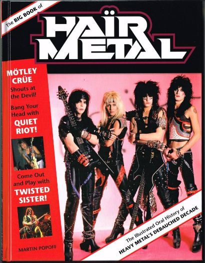 MARTIN POPOFF – The Big Book Of Hair Metal