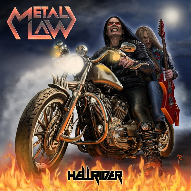 METAL LAW - Hellrider