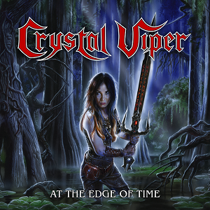 CRYSTAL VIPER - At The Edge Of Time EP