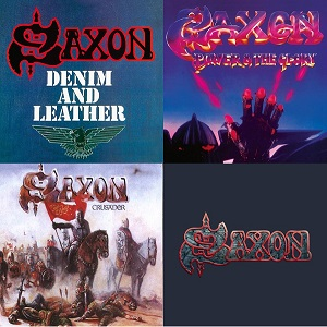 SAXON – Denim And Leather, Power & The Glory, Crusader