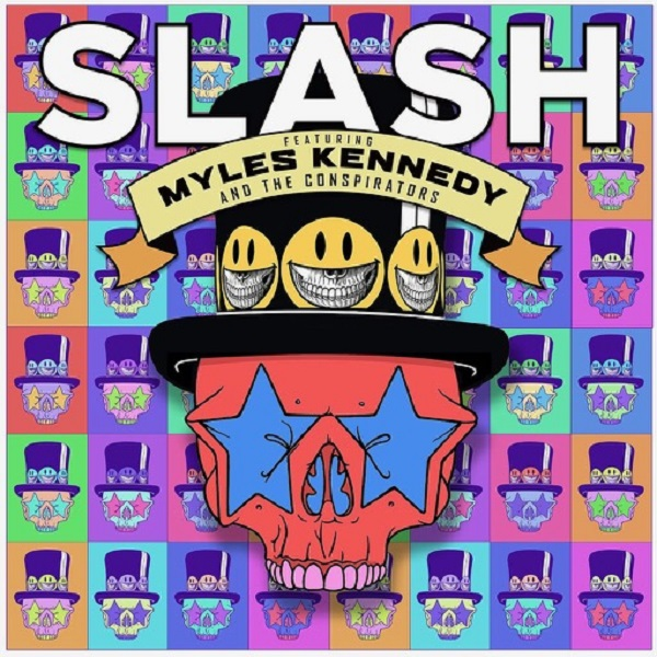 SLASH FEATURING MYLES KENNEDY AND THE CONSPIRATORS – Living The Dream