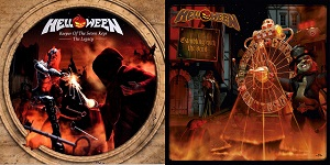 HELLOWEEN – Keeper Of The Seven Keys: The Legacy / Gambling With The Devil