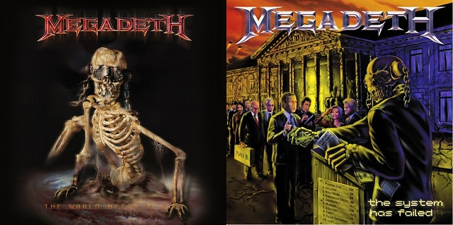 MEGADETH – The World Needs A Hero / The System Has Failed