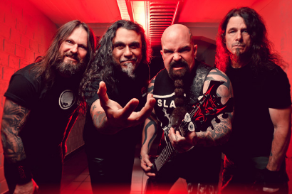 SLAYER Finally Hit The Studio To Record New Album; Photo